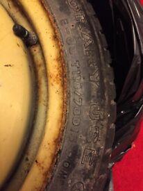 Car Wheel - Emergency Spare