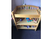 Baby changing table - Mamas and Papas