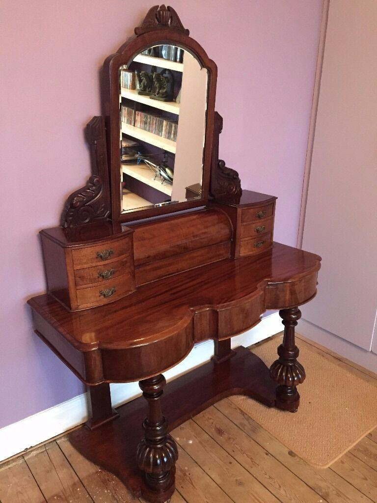 Victorian dressing table - Victorian Mahogany Duchess Dressing Table C1860
