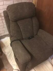 Lazy boy electric recliner/uplifting chair