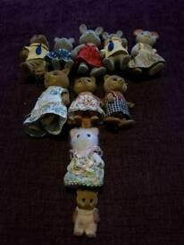 Sylvanian Families Animal Bundle x