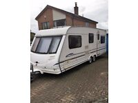 Sterling Eccles Elite Trekker - Twin Axel - Fixed Dble Bed -Air Awning & Annexe