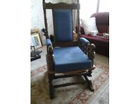 Rocking chair for sale.