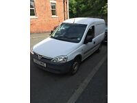 Vauxhall combo 80,000 miles have all mot certificates to prove legitimate milage two keys £1100 ono