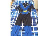 Ninja costume aged 8 to 10 years