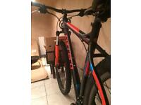 Mountain bike carrera sulcata MTB