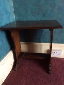 Dark Wood Art Deco Table