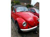 Classic vw beetle tax and mot exempt