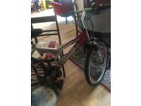 APOLLO AL 600 HYBRID BICYCLE GENTS/LADIES GOOD CONDITION