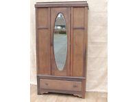 Solid wooden vintage wardrobe (Delivery)