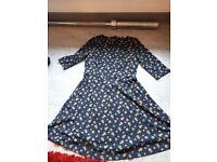 Floral skater style dress. Size 12
