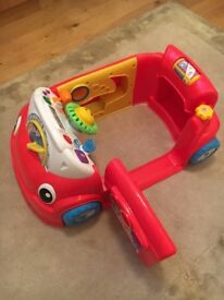 Fisher price laugh and learn car. £15