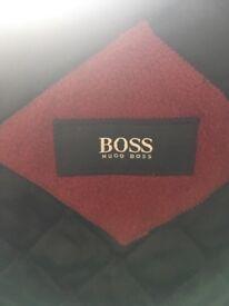 Hugo boss size m burgundy jacket