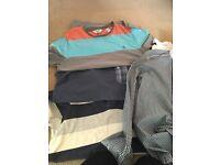 Large bundle men's shirts and t shirts