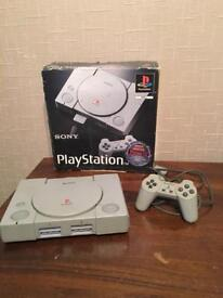 PS1 PlayStation 1 SCPH 1002 Console Boxed