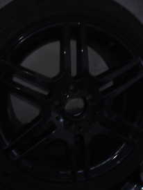 "17"" original AMG alloys with good tyres"