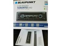 BLAUPUNKT TORONTO 440 BT RADIO/CD PLAYER