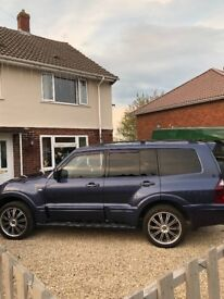 **SOLD** For sale is our loved Mitsubishi shogun!