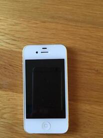 iPhone 4 and iPhone 5 for sale. Both need new screens. View photos