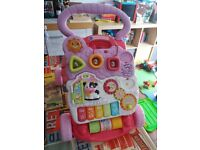 Vtech First Steps Baby Walker - excellent condition