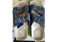 Bluefin New Men slippers, Blue colour and Size is 43 which is UK 9