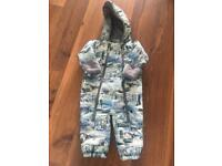 Original Mantaray snow suit 12-18 worn TWICE