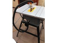 Titan table saw only used