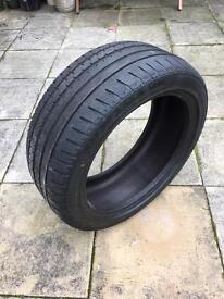 Continental Sport Contact 2 SSR Tyre Runflat BMW etc approx 5mm