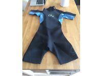 GUL Shorty Summer Wetsuit Size 8