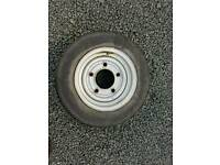 Ifor williams trailer 155 70 r12 c wheel and tyre