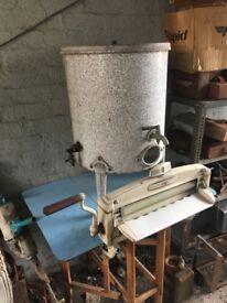 Vintage Acme Washing Tub Boiler- can deliver