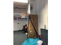 Basketball Portable Net with backboard