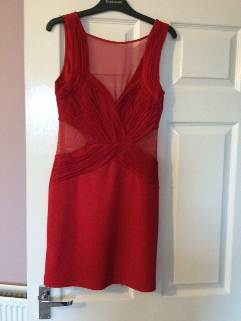 Lipsy London brand new with label dress size 12in Grangemouth, FalkirkGumtree - New with label size 12 lipsy London red dress for sale, rrp £55.00