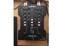 Mixer Xone 23 allen & heat