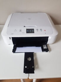 Canon MG6851 printer/scanner/copier with ink, box & instructions