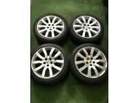 "Range Rover Sport 20"" alloy wheels 9.5Jx20 ET53"