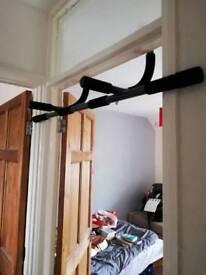 Door pull up bar