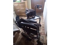 Portable wheelchair and mobility walker