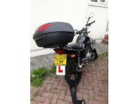 Yamaha YBR 125cc Learner Motorbike