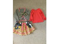 Jelly the pug range age 4 big bundle mix and match outfits