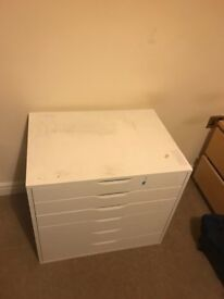 Drawers - needs a clean but practically new.
