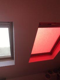 Velux window blinds x4