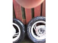 Moped wheels for sale 60 with tyers