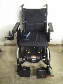 Electric Wheelchair - Patterson Medical Mid-Wheel Power Chair.