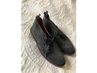 Superdry grey chukka boots brand new