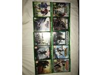 Xbox one games bundle - WILL SELL SEPARATELY IF WANTED ! -