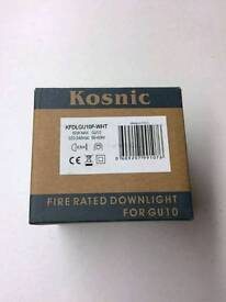 Kosnic Fire Rated Can size Spotlight - Downlight rrp £6