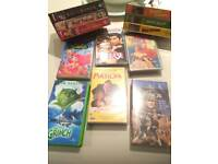 Free VHS Lot Over 100 Videos Movies TV Box Set Music
