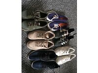 Numerous pairs of shoes and boots!!! Great for students! Mainly size 6 and 7!