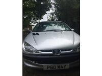 Lovely Peugeot 206 currently not running - spares or repair